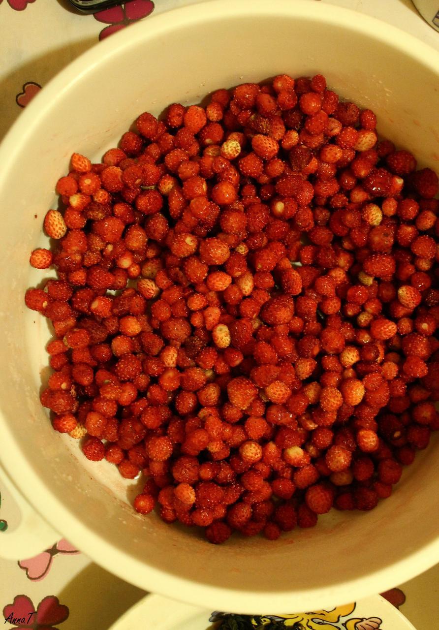компот земляника ягоды лето